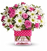 Flower Bouquets: Polka Dots and Posies