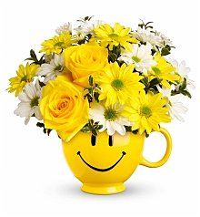 Flower Bouquets: Be Happy Bouquet
