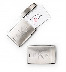 Personalized Keepsake Gifts: Engraved Business Card Holder