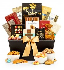 Gourmet Gift Baskets: Grand Reception Gourmet Gift Basket