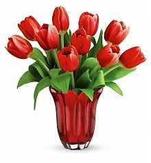 Flower Bouquets: Kissed By Tulips Bouquet