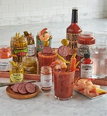 Food Drink Kits Gifts: Big & Bold Bloody Mary Bar
