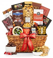 Gourmet Gift Baskets: Season's Greetings Gourmet Collection