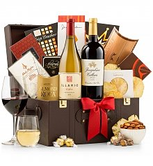 Wine Baskets: Business Class Selections