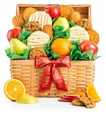 Fruit Baskets: Fresh Fruit and Cookies Appreciation Basket